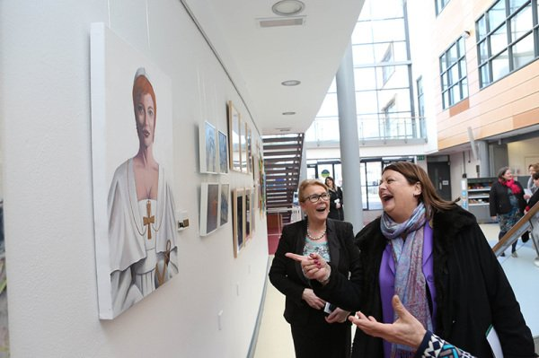 NUI Galway Daughter of Dagda Exhibition Athena Swan Bronze Award Department of Medicine General Practice