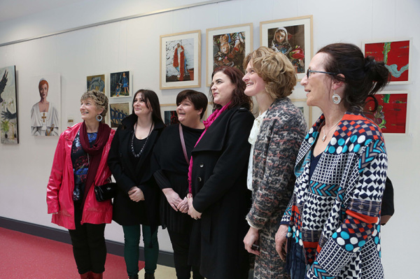 Hilary Morley NUI Galway Daughter of Dagda Exhibition Athena Swan Bronze Award Department of Medicine General Practice